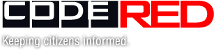 Code Red, Keeping Citizens Informed Logo