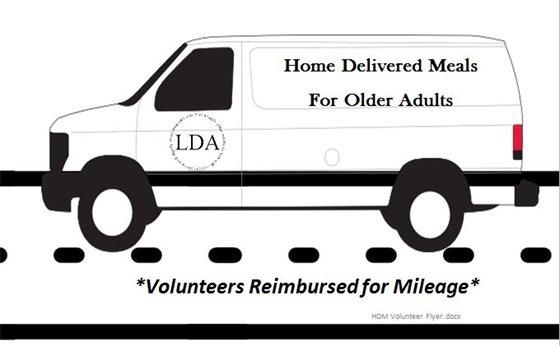 Home Delivered Meals van