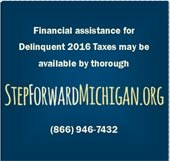 Financial Assistance for 2016 Delinquent Taxes at Step Forward Michigan . org