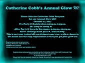 Catherine Cobb Annual Glow 5K