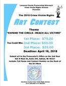 Crime Victims Rights ART CONTEST